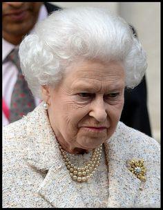Queen Elizabeth II - Queen Elizabeth II Leaves the London Clinic