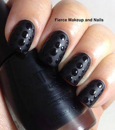 Fierce Makeup and Nails: Matte vs. Shiny Mani