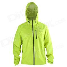 SAHOO Outdoor Sport Cycling Windproof Rainproof Long Sleeve Coat - Green (Size L) Price: $42.12