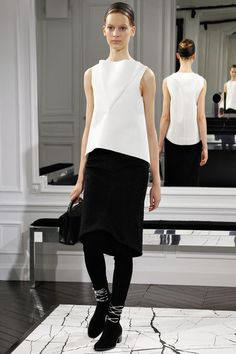 Another great Balenciaga from Alexander Wang F/W 2013