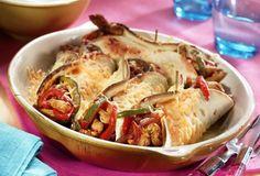 Mexicaanse burrito's uit de oven