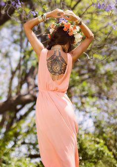 Goddess of Wind - ethereal summer style inspired by the elements.