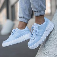 Air Force Shoes, Nike Shoes Air Force, Air Force Blue, Nike Fashion, Sneakers Fashion, Fashion Shoes, Running Fashion, Boy Fashion, Fall Fashion