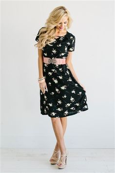 The Kayla is such a beautiful spring dress!