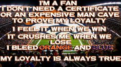 Is your loyalty always true? Go Broncos! Denver Broncos Baby, Go Broncos, Broncos Fans, Football Baby, Girl Cave, Different Sports, Sports Photos, Extreme Sports, One Team