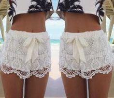 Fashion Style Lace Shorts