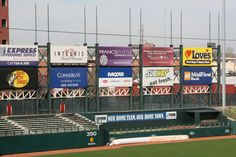Outfield Wall Banners Sponsor Signage