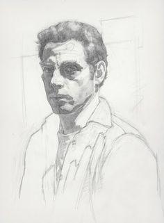 Jacob Collins, Self Portrait - John Pence Gallery