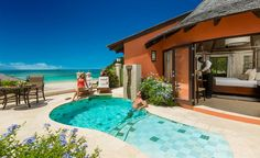The Best Honeymoon Hotels & The Best Honeymoon Destinations in the Caribbean: Sandals Romantic Luxury Resorts