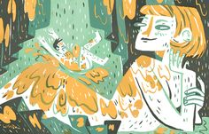Bust Magazine - Pam Wishbow Illustration