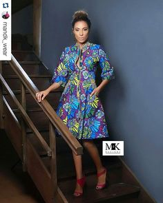 Thinking of what to wear out tonight?  Enjoy your evening with @mandk_wear ready to wear proudly made with #GTP