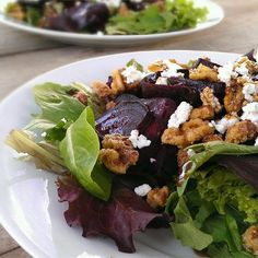 "Beet Salad with Goat Cheese I ""Wonderfully festive! It is so tasty ..."