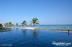 The Infinity Pool at the Secrets Silversands Riviera Cancun. November2013!!!