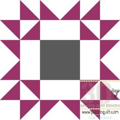 Arizona Star Block Pattern - Free quilting pattern to make a stunning star quilt pattern.