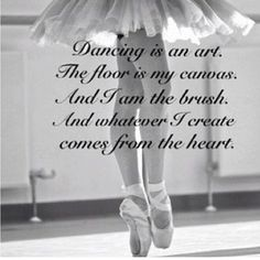 Pix For > Ballet Dance Quotes Tumblr