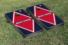 Dixie State Red Storm Diamond Cornhole Bag Toss Game
