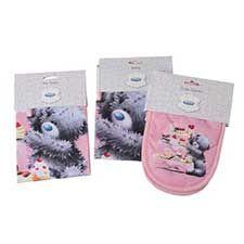 Me to You Bear Apron Oven Gloves & Tea Towel Gift Set