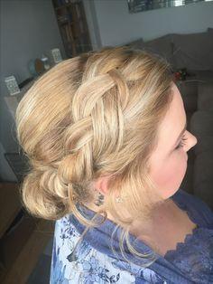 #braided #updo #messybun #blonde hair#makeupartist #staffordshire #cheshire #hairstyles #bridalhair #bridesmaids #bridesmaidshair