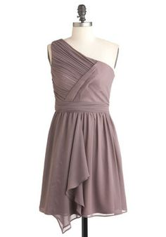 The color of this dress from Krista's website would look good with your dress. Over Dessert Dress, #ModCloth