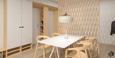 Návrh jedálne - Interiér bytu Ambroseho, Bratislava - Interiérový dizajn / Dining room interior by Archilab