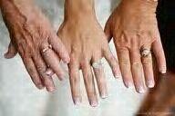 3 generation wedding rings