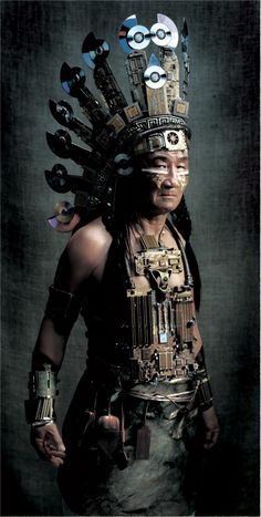 Cyberpunk Native American