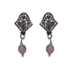 Silvesto Jaipur Light Pink Quartz Beads Silver Plated Earring PG 22863 Silvesto Jaipur https://www.amazon.ca/dp/B01DQS1P6K/ref=cm_sw_r_pi_dp_Ih..wbQ295SGJ