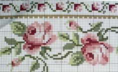 Wayuubags&more by Mariya Gergi ( Cross Stitch Borders, Cross Stitch Flowers, Cross Stitch Patterns, Crochet Patterns, Crochet Quilt, Tapestry Crochet, Knit Crochet, Mochila Crochet, Knitting Charts