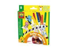 Baby Markers 8 kleuren
