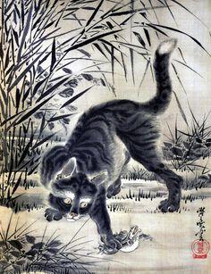 Kawanabe Kyosai [Gyosai] (1828-1889). Image via Pinterest