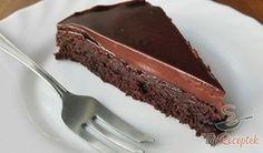Lágy, csokoládés fekete herceg sütemény
