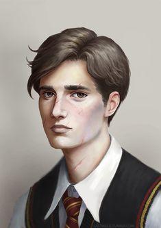 Young Remus Lupin fanart by Lasthielli by Lasthielli.deviantart.com on @DeviantArt