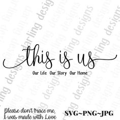 This is us custom length svg cut file for cricut and