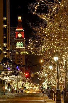Denver, Colorado Christmas Lights
