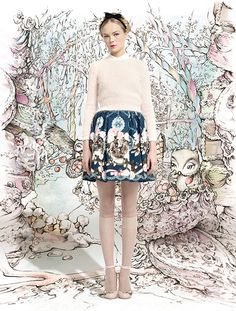 RED VALENTINO 2013 AW