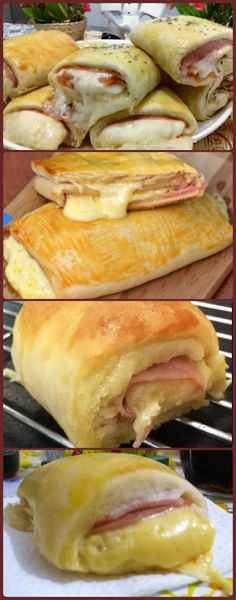 My Recipes, Bread Recipes, Portuguese Recipes, Hot Dog Buns, Carne, Sandwiches, Food And Drink, Pizza, Lunch