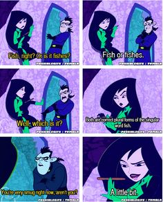 Shego is the best.