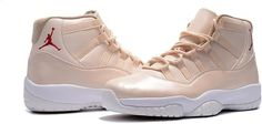 4b27ce8c46d96 Nike Air Jordan XI 11 Retro Creamy White Maroon Men Shoes 378037-1165  Lounge Clothes