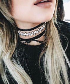 MONARCH JAGGED EDGE CHOKER - Fallon Jewelry