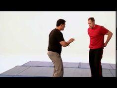 Krav Maga self defense against a takedown.
