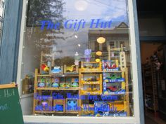 The Gift Hut- great place for unusual kid's toys.