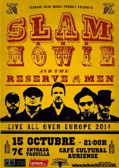 Slam & Howie and the reserve men en Café Cultural Auriense, Ourense music musica concerto concierto