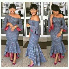 The Hottest and Trendy Ankara Styles To Wear in the Year 2017 - Wedding Digest Naija