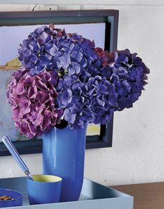 Decorar con Hortensias