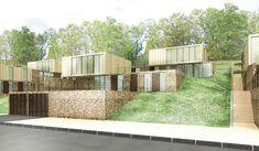 terrain en pente + architecte + maison moderne - Google Search