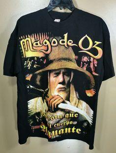 Mago de Oz Mexico Tour Black T-Shirt Rock Revolution #RockRevolution