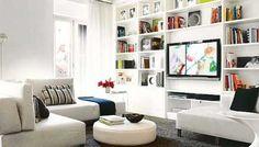 ... IN CARTONGESSO! http://www.arredamento.it/living/soggiorno/librerie