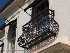 Raleigh Wrought Iron and Fence Co. Custom Wrought Iron Balcony in ...