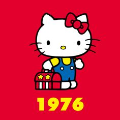 Hello kitty through the years 1976