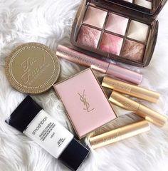 Imagem de makeup, YSL, and pink